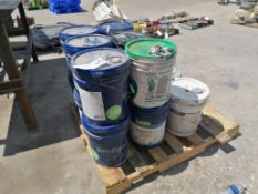 (15) 5 GAL Buckets of Strong Bond Acrylic Bonding and Admixture. Located at 301 E Henry Street,