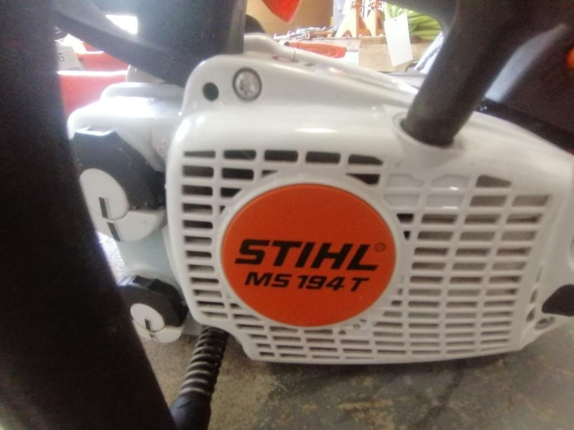 Lot 19 - (1) Stihl MS194T Chainsaw. Located at 301 E Henry Street, Mt. Pleasant, IA 52641.