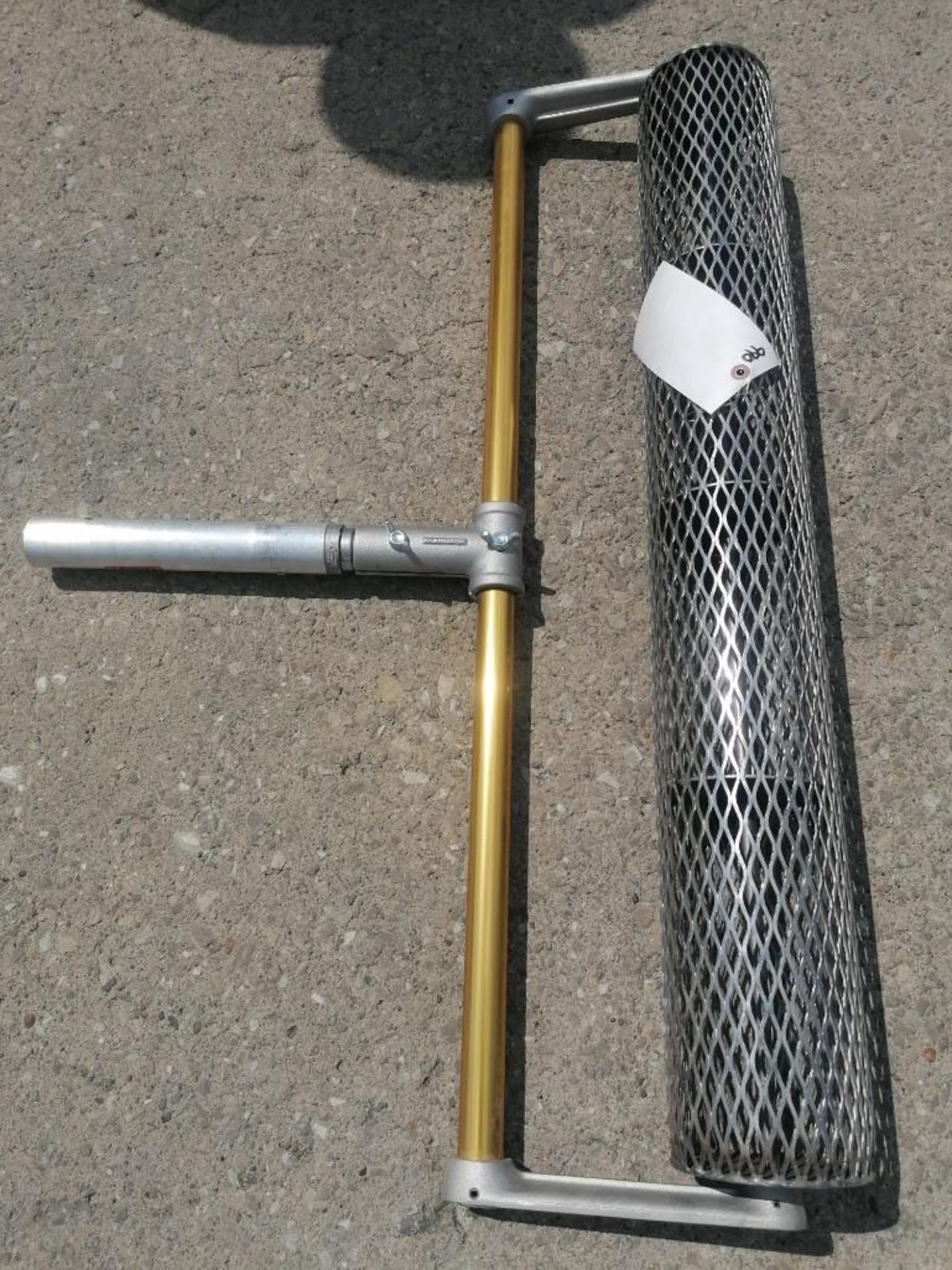"Lot 69 - (1) NEW 36"" Single Rolling Tamper. Located at 301 E Henry Street, Mt. Pleasant, IA 52641."
