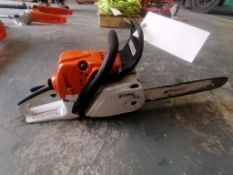 (1) Stihl MS251C Chainsaw. Located at 301 E Henry Street, Mt. Pleasant, IA 52641.