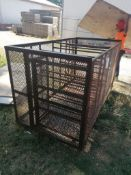 4' Basket. Located at 301 E Henry Street, Mt. Pleasant, IA 52641.