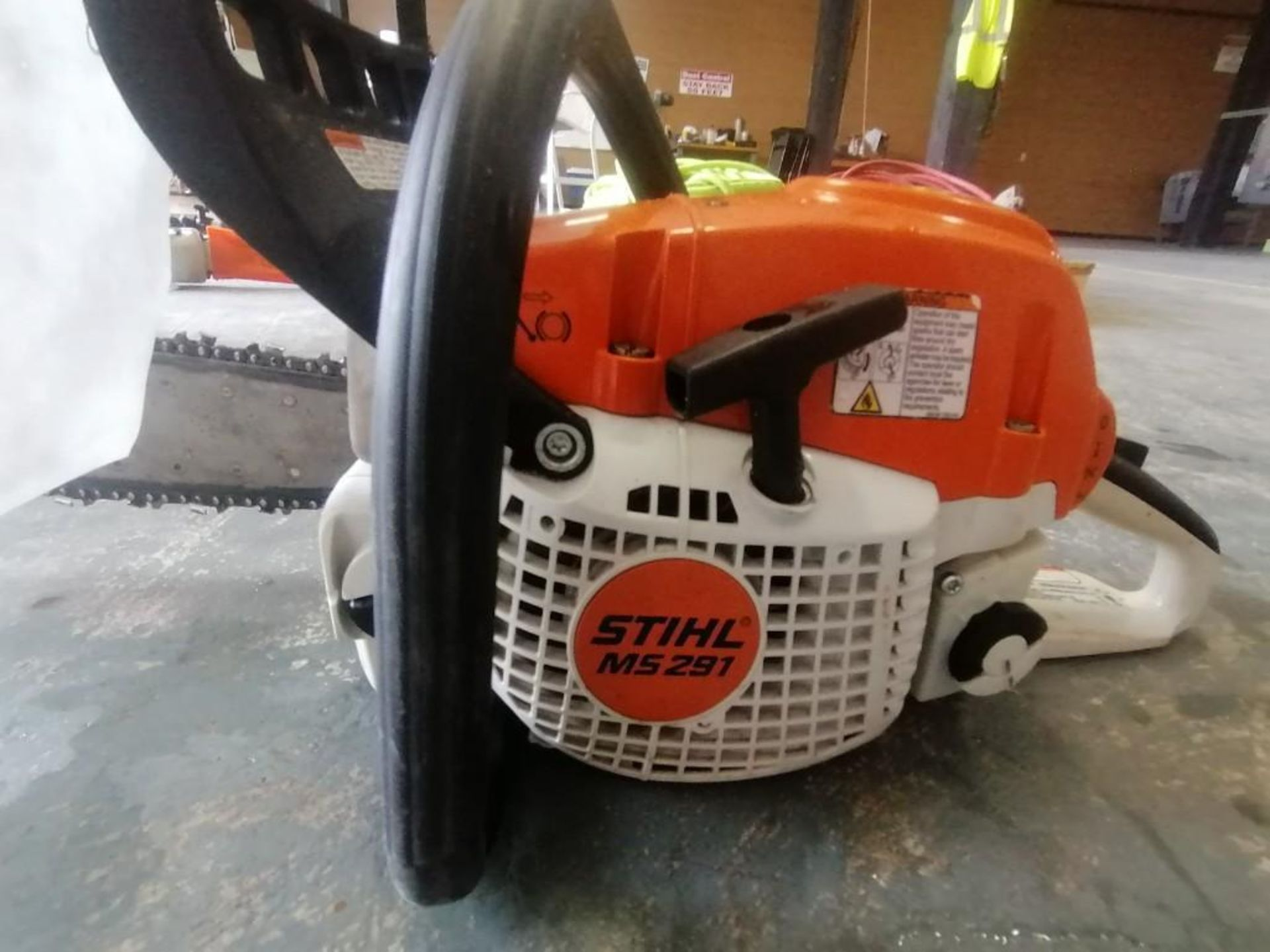 Lot 16 - (1) Stihl MS291 Chainsaw. Located at 301 E Henry Street, Mt. Pleasant, IA 52641.