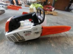 (1) Stihl MS194T Chainsaw. Located at 301 E Henry Street, Mt. Pleasant, IA 52641.