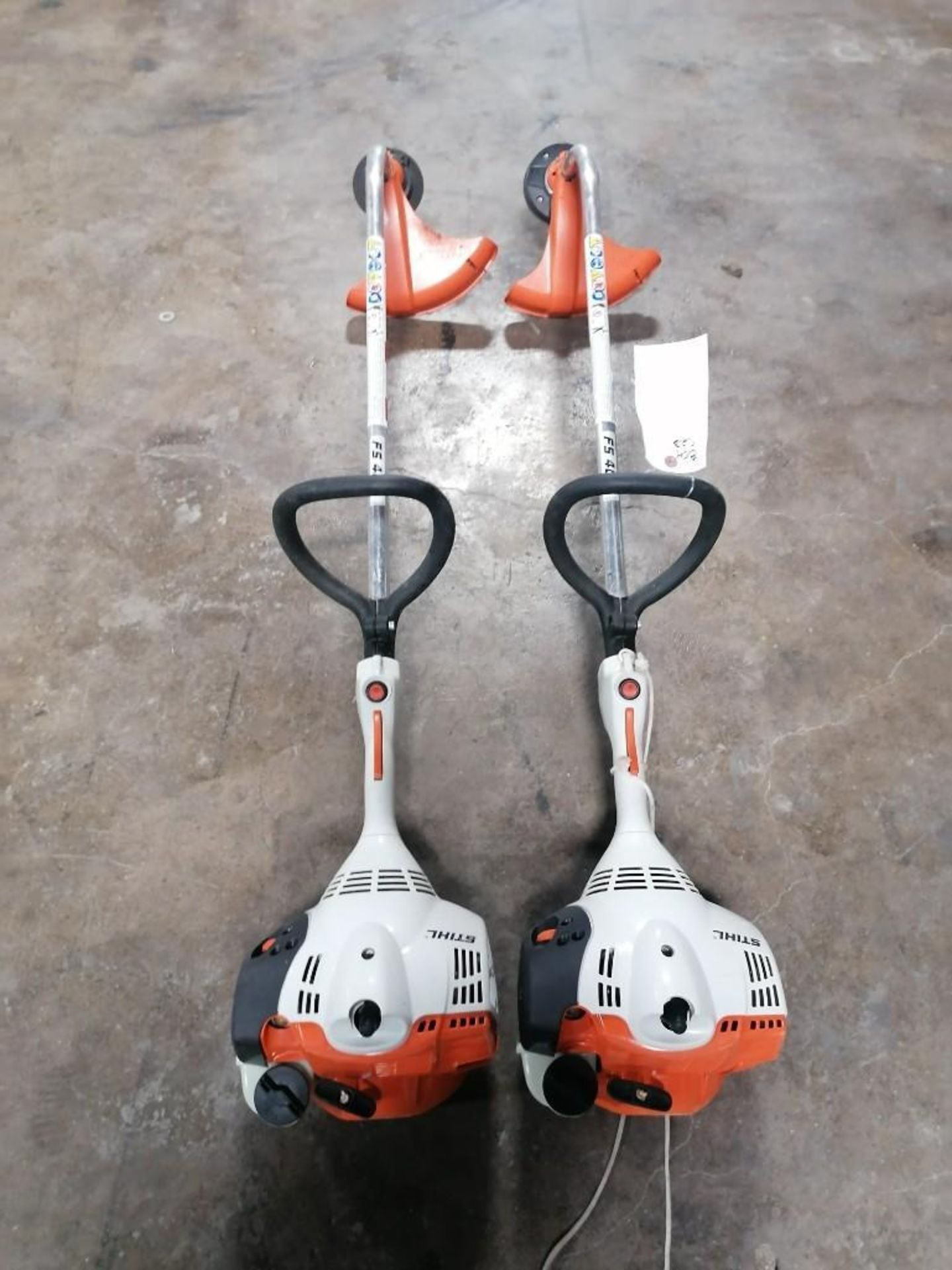 Lot 40 - (2) Stihl FS40C String Trimmer. Located at 301 E Henry Street, Mt. Pleasant, IA 52641.