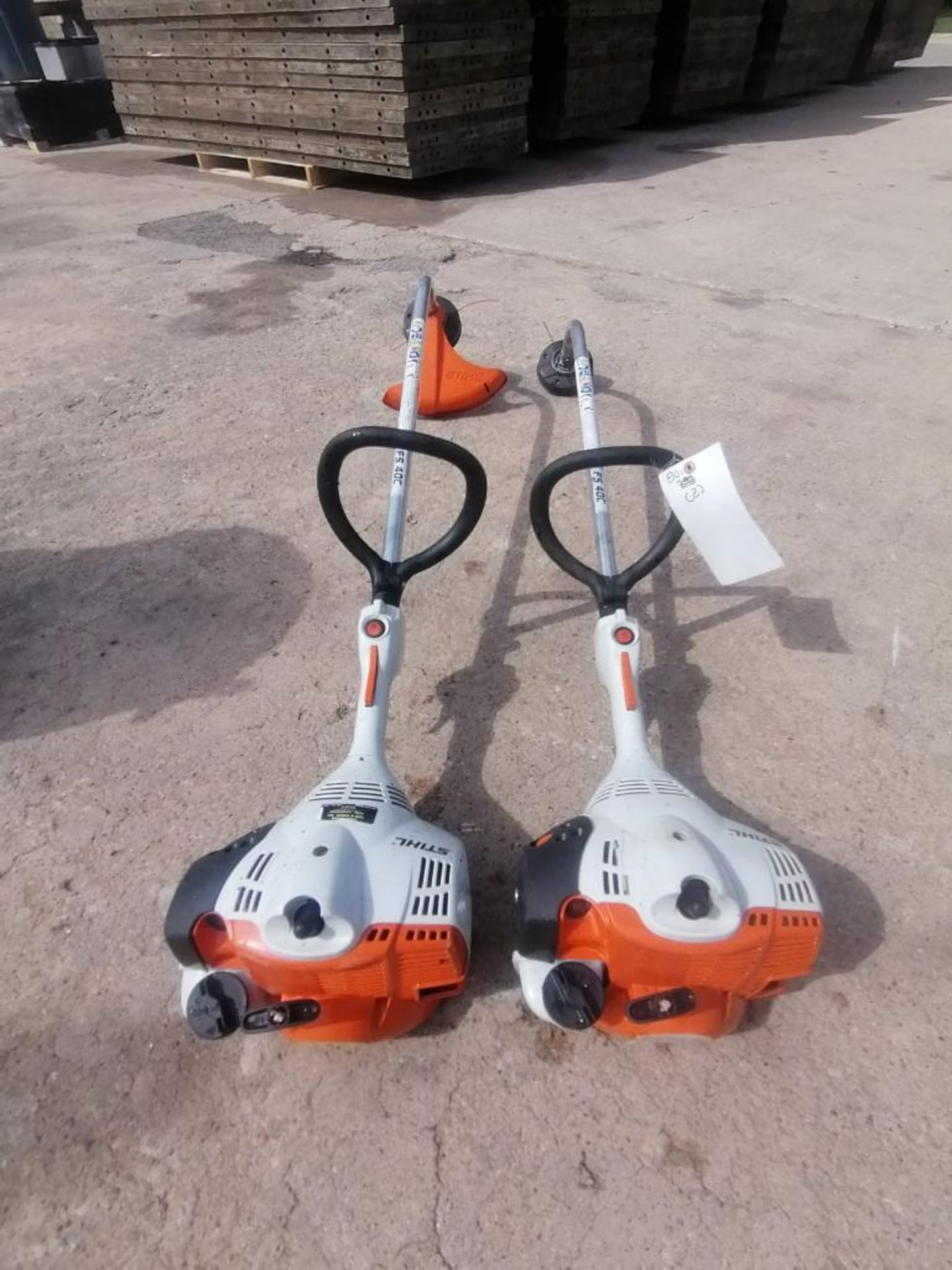 (2) Stihl FS40C String Trimmer. Located at 301 E Henry Street, Mt. Pleasant, IA 52641.