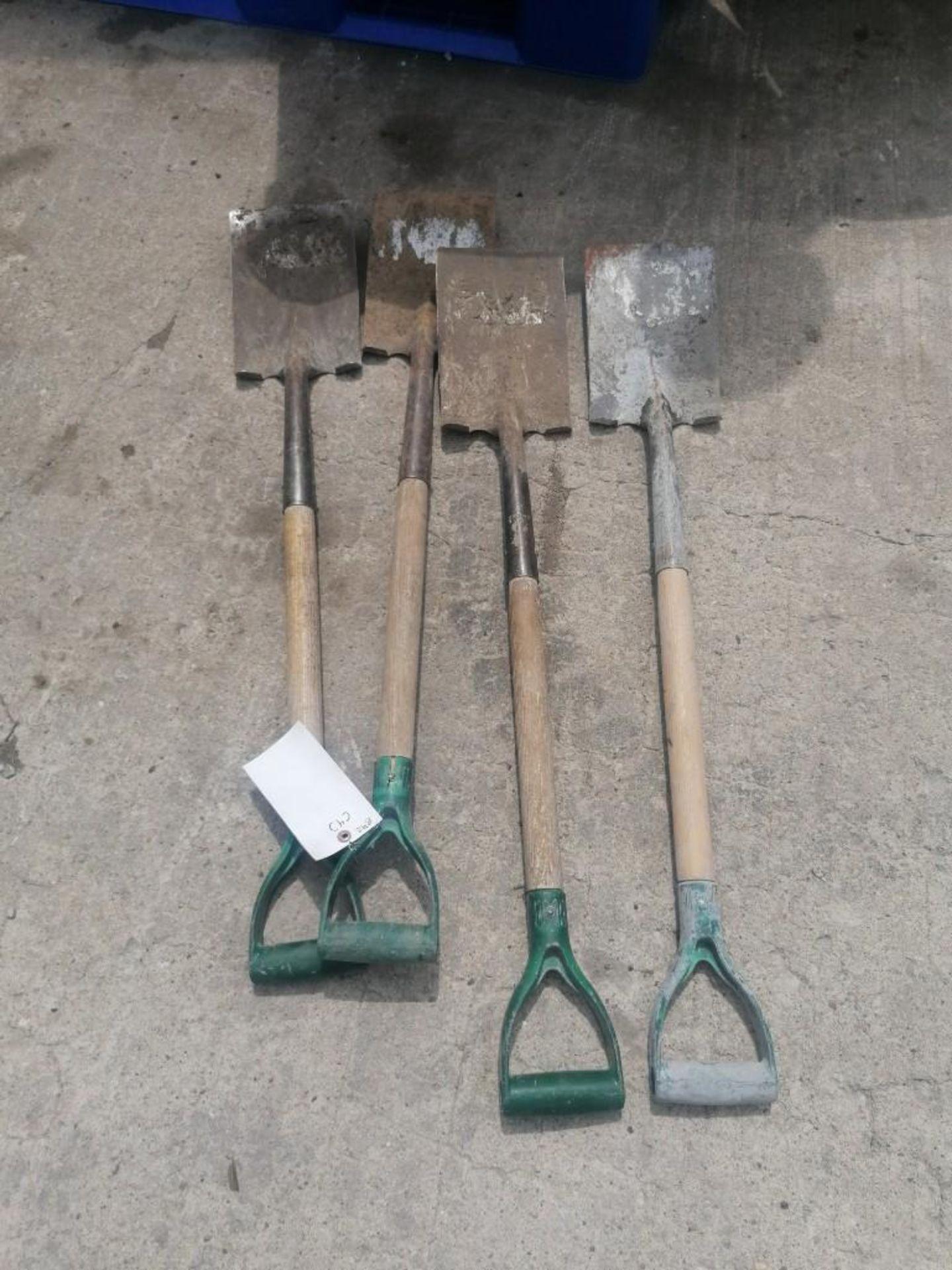 Lot 57 - (4) Shovels. Located at 301 E Henry Street, Mt. Pleasant, IA 52641.
