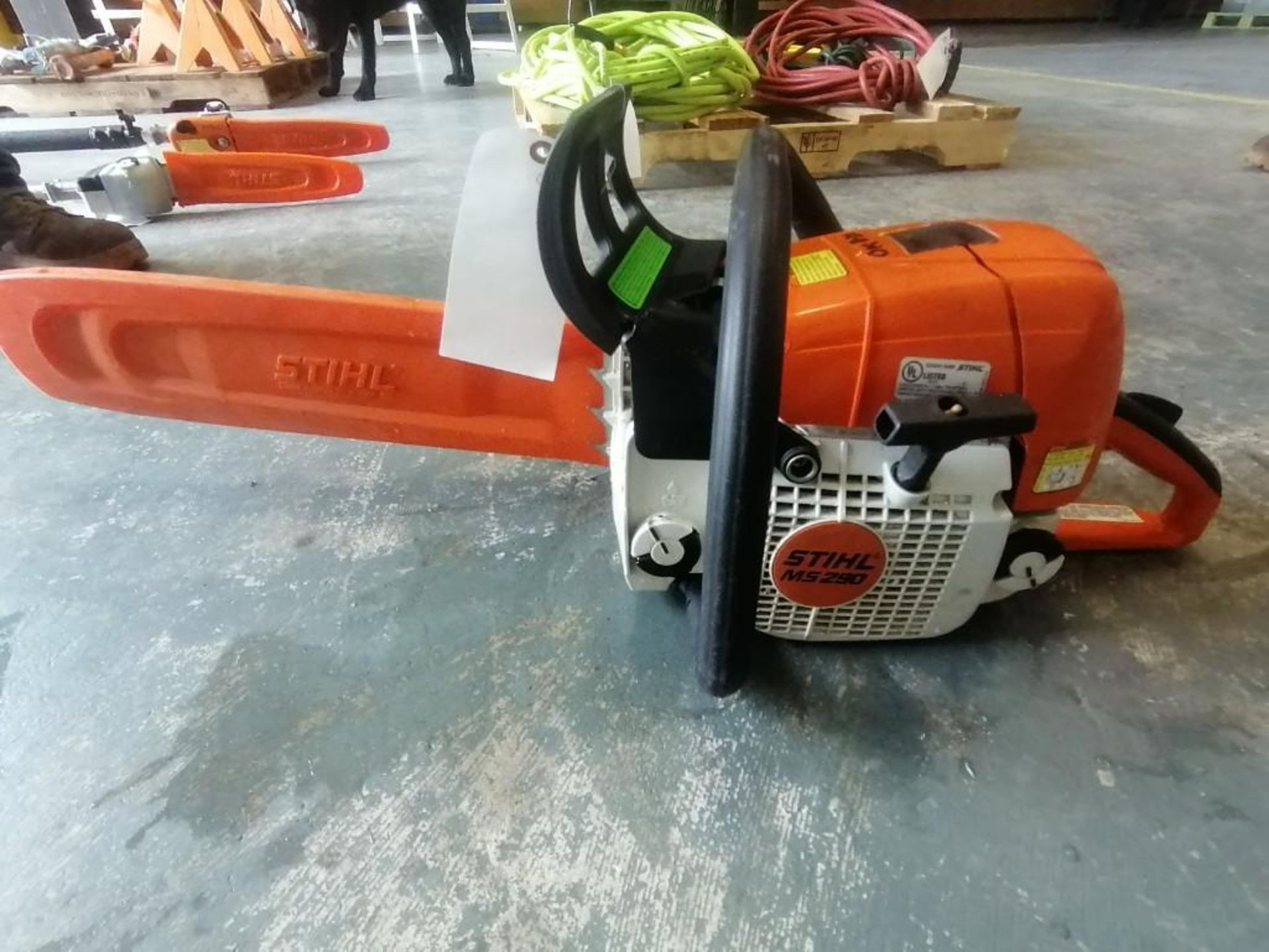 Lot 15 - (1) Stihl MS290 Chainsaw. Located at 301 E Henry Street, Mt. Pleasant, IA 52641.