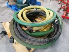 (4) Suction Hoses. Located at 301 E Henry Street, Mt. Pleasant, IA 52641.