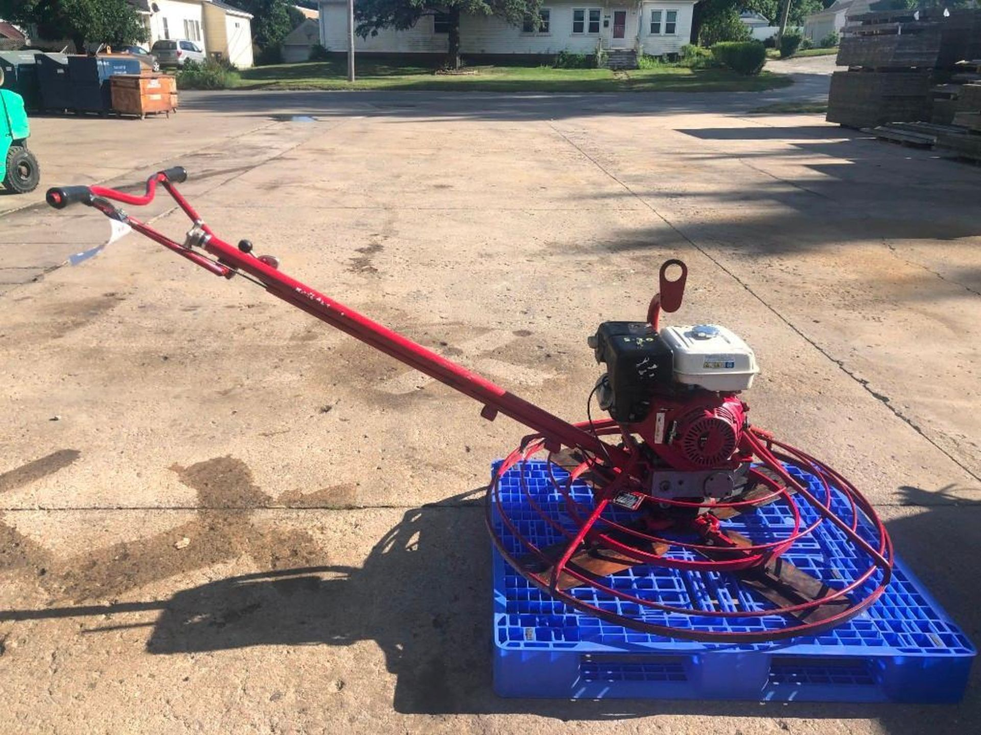 """Lot 106 - 46"""" Allen Engineering Power Trowel, Serial #4461007010, Model 446 BASIC. Located at 301 E Henry"""