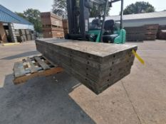 (6) 2' x 9' Wall-Ties Aluminum Concrete Forms, Laydowns, Smooth 6-12 Hole Pattern. Located at 301