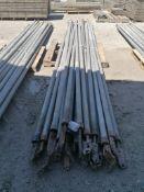 (20) 14' Aluminum Bracing Poles. Located at 301 E Henry Street, Mt. Pleasant, IA 52641.