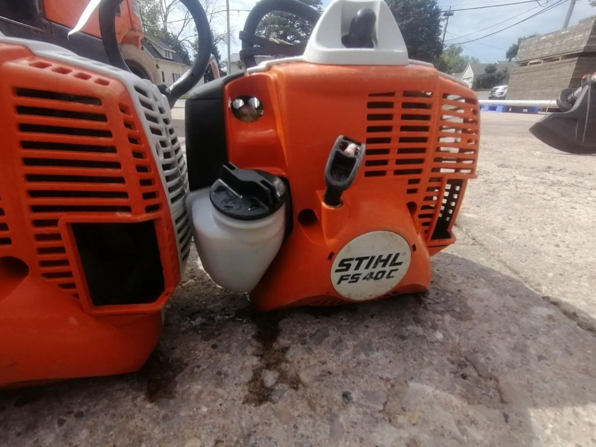(2) Stihl FS40C String Trimmer. Located at 301 E Henry Street, Mt. Pleasant, IA 52641. - Image 3 of 4