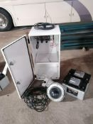 (1) EarthCam P.O.E Camera System Solar Power with 16' Aluminum Mauning Pole. Model Construction