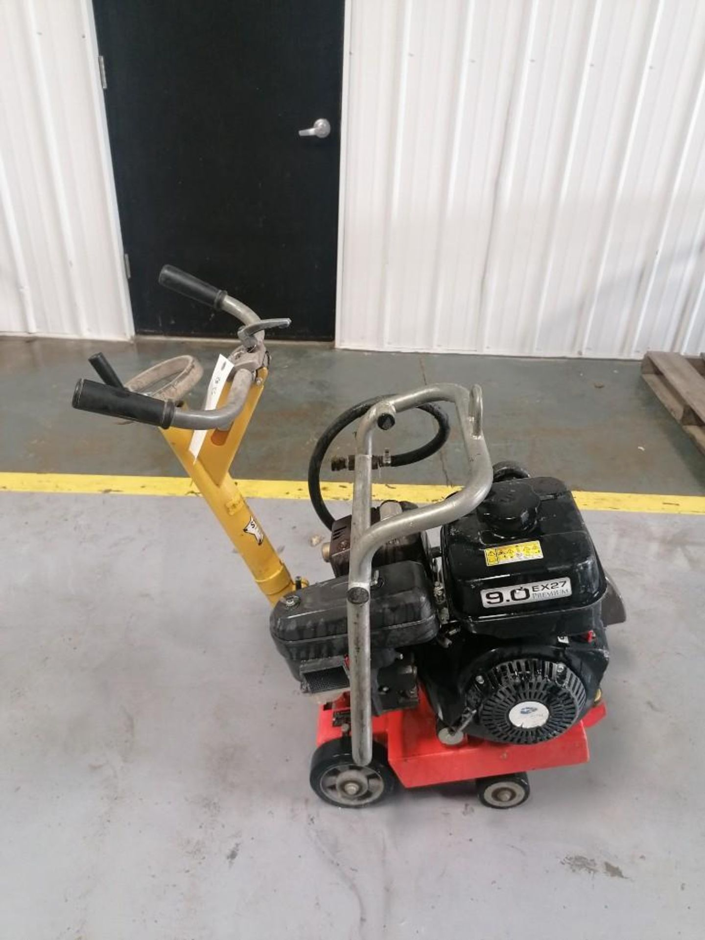 Lot 110 - (1) Husqvarna ES309 Concrete Saw with Subaru 9.0 EX27 Motor. Located at 301 E Henry Street, Mt.