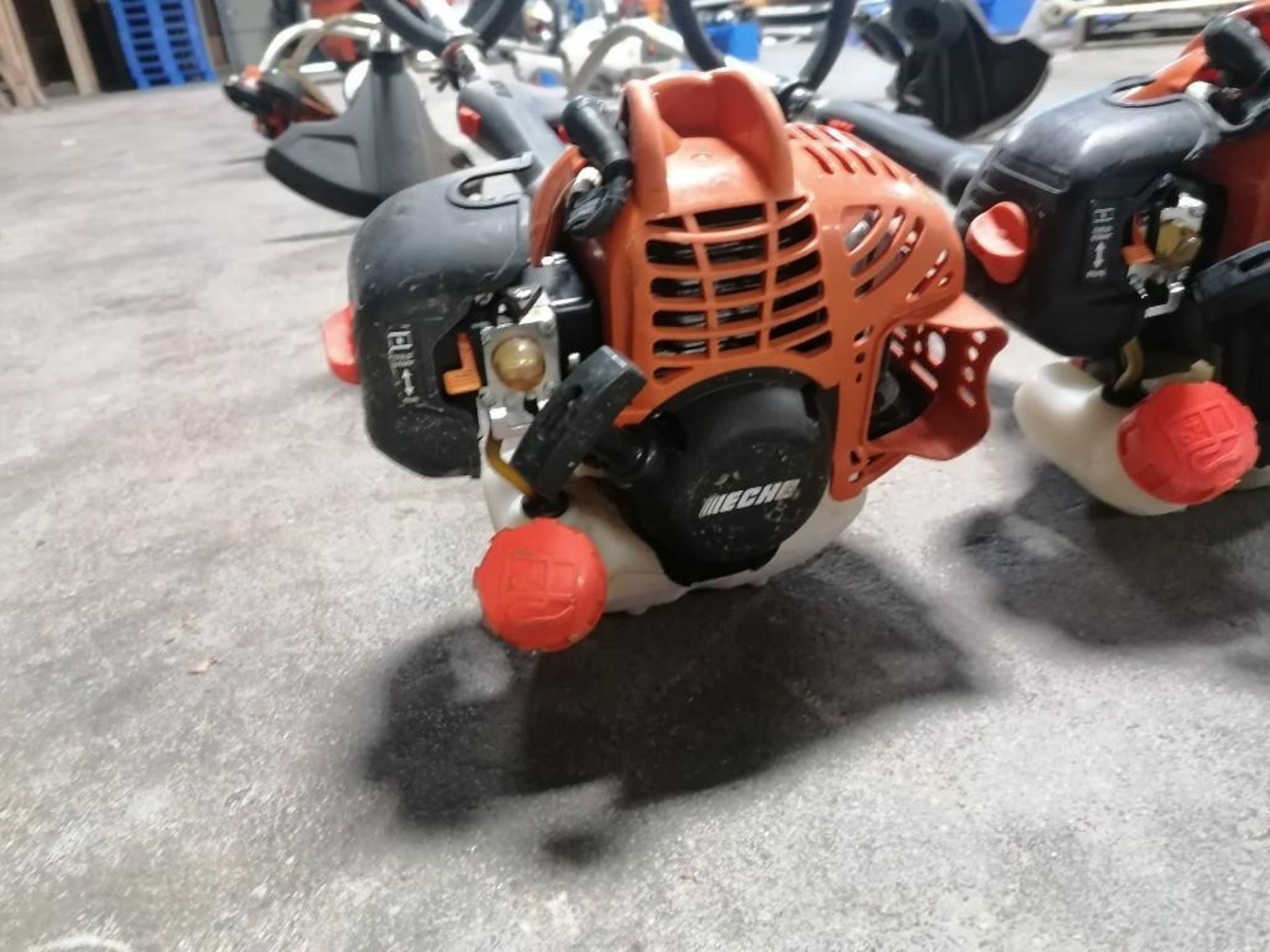 Lot 32 - (2) ECHO String Trimmer. Located at 301 E Henry Street, Mt. Pleasant, IA 52641.