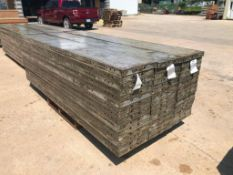 """(15) 16"""" x 9' Wall-Ties Aluminum Concrete Forms, CAP, Smooth 6-12 Hole Pattern. Located at 301 E"""