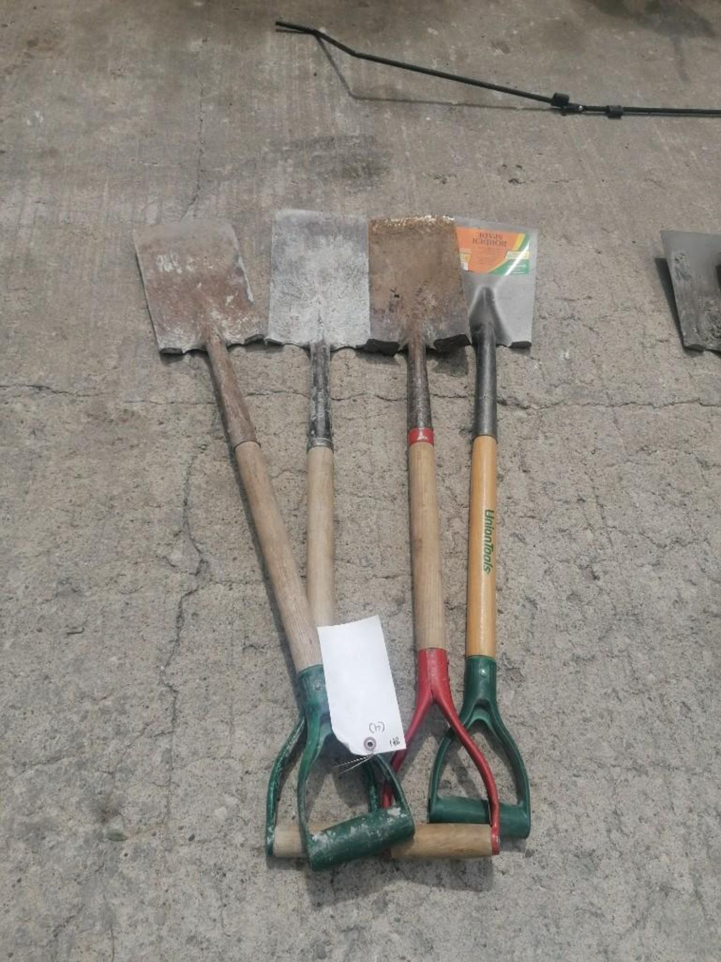Lot 59 - (4) Shovels. Located at 301 E Henry Street, Mt. Pleasant, IA 52641.