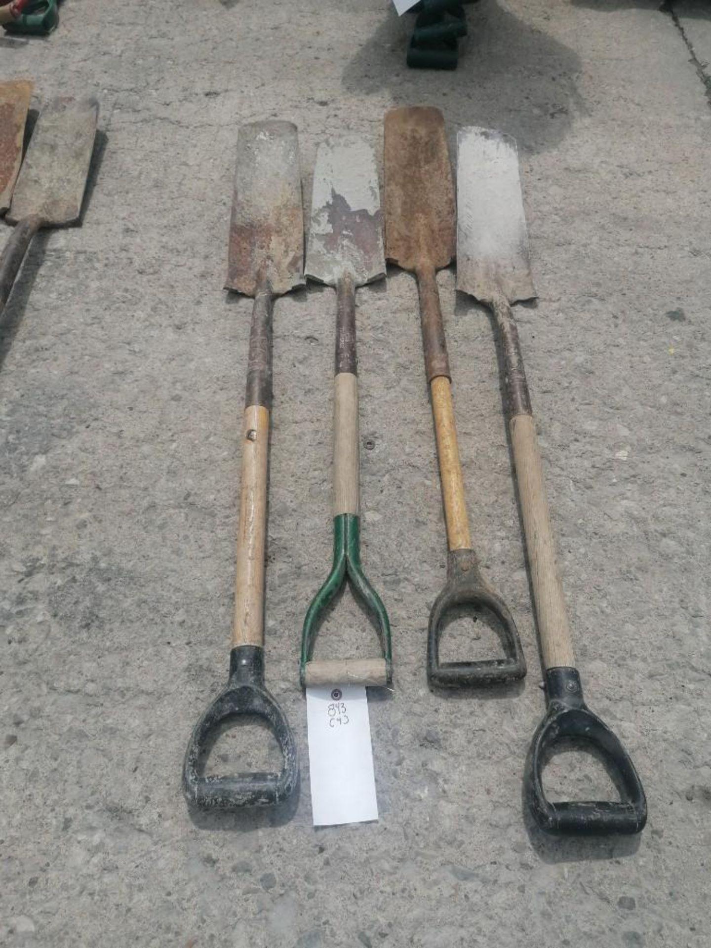 Lot 58 - (4) Shovels. Located at 301 E Henry Street, Mt. Pleasant, IA 52641.