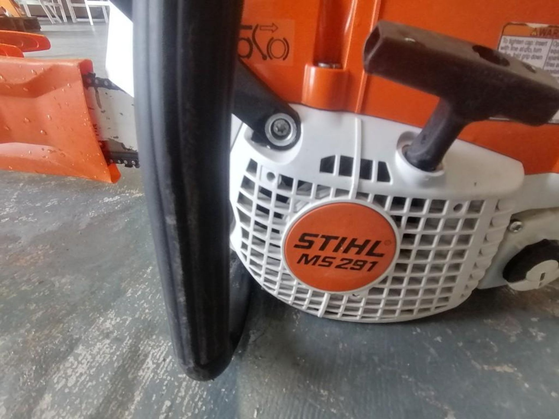 Lot 17 - (1) Stihl MS291 Chainsaw. Located at 301 E Henry Street, Mt. Pleasant, IA 52641.