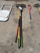 (4) Bow Rakes. Located at 301 E Henry Street, Mt. Pleasant, IA 52641.