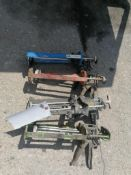 (4) Caulk Guns. Located at 301 E Henry Street, Mt. Pleasant, IA 52641.