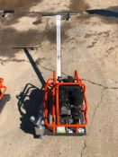 Husqvarna Soff-Cut 150 Concrete Saw. Located at 301 E Henry Street, Mt. Pleasant, IA 52641