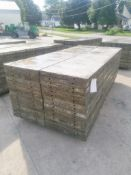 (30) 2' x 9' Wall-Ties Aluminum Concrete Forms, Laydowns, Smooth 6-12 Hole Pattern. Located at 301 E