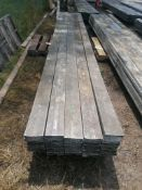 "(30) 5 1/2 "" x 1 1/2"" x 16' Aluminum Waler Boards. Located at 301 E Henry Street, Mt. Pleasant, IA"