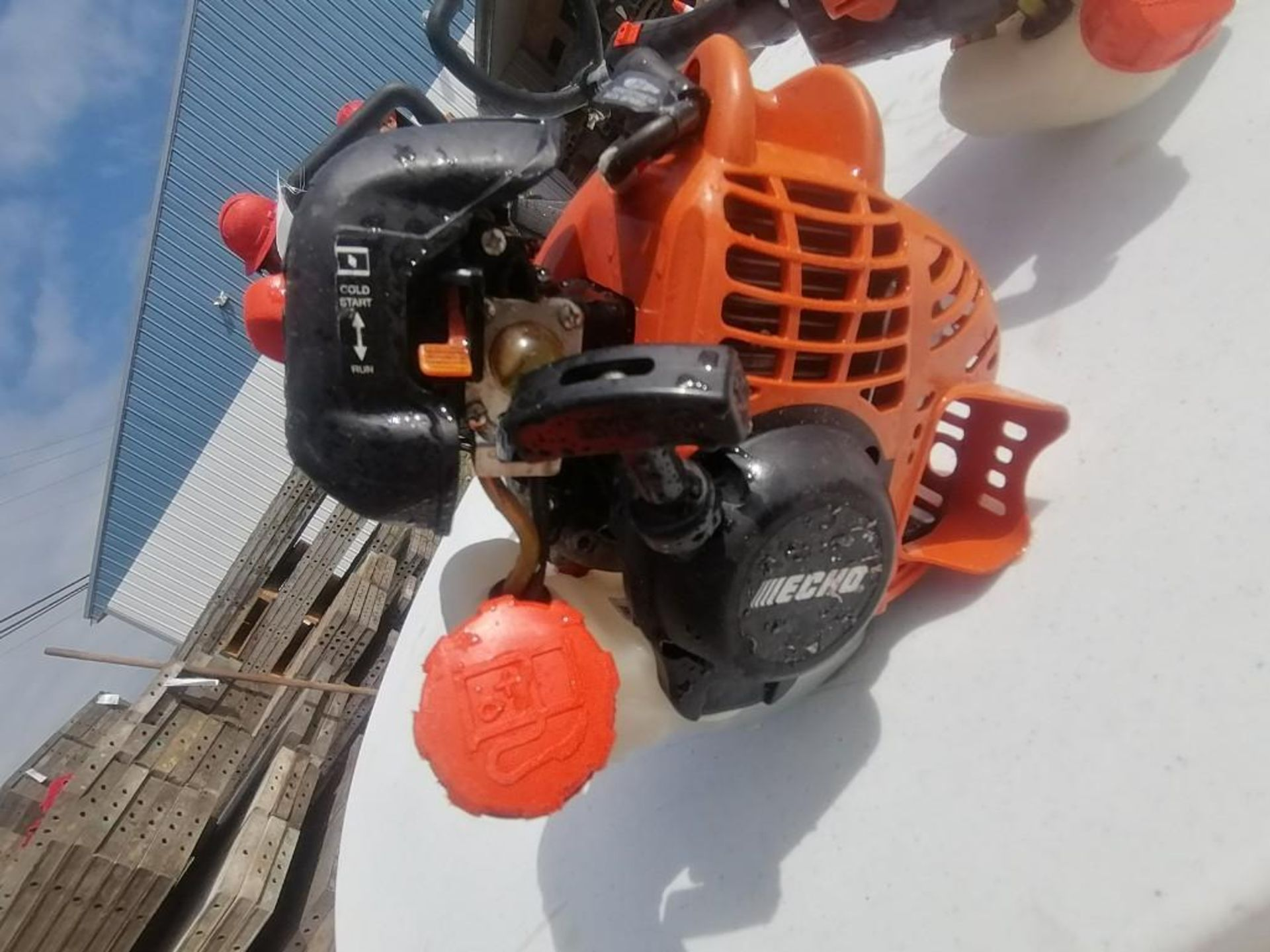 Lot 35 - (2) ECHO String Trimmer. Located at 301 E Henry Street, Mt. Pleasant, IA 52641.