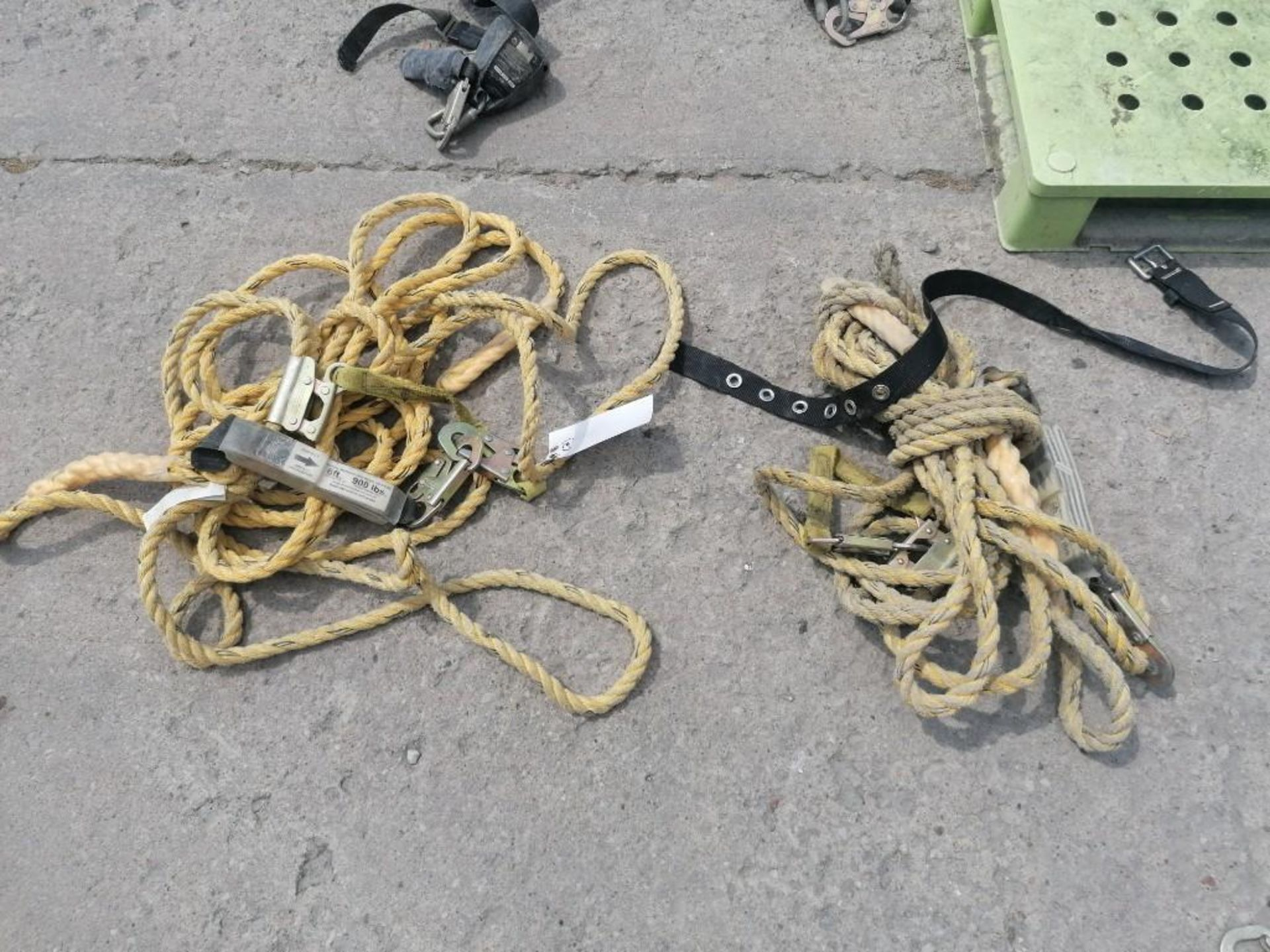 Lot 930 - (2) Climbing Ropes