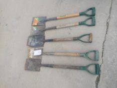 (5) Shovels. Located at 301 E Henry Street, Mt. Pleasant, IA 52641.