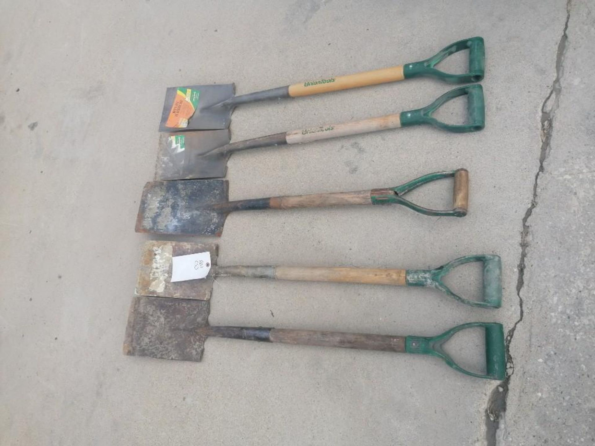 Lot 44 - (5) Shovels. Located at 301 E Henry Street, Mt. Pleasant, IA 52641.