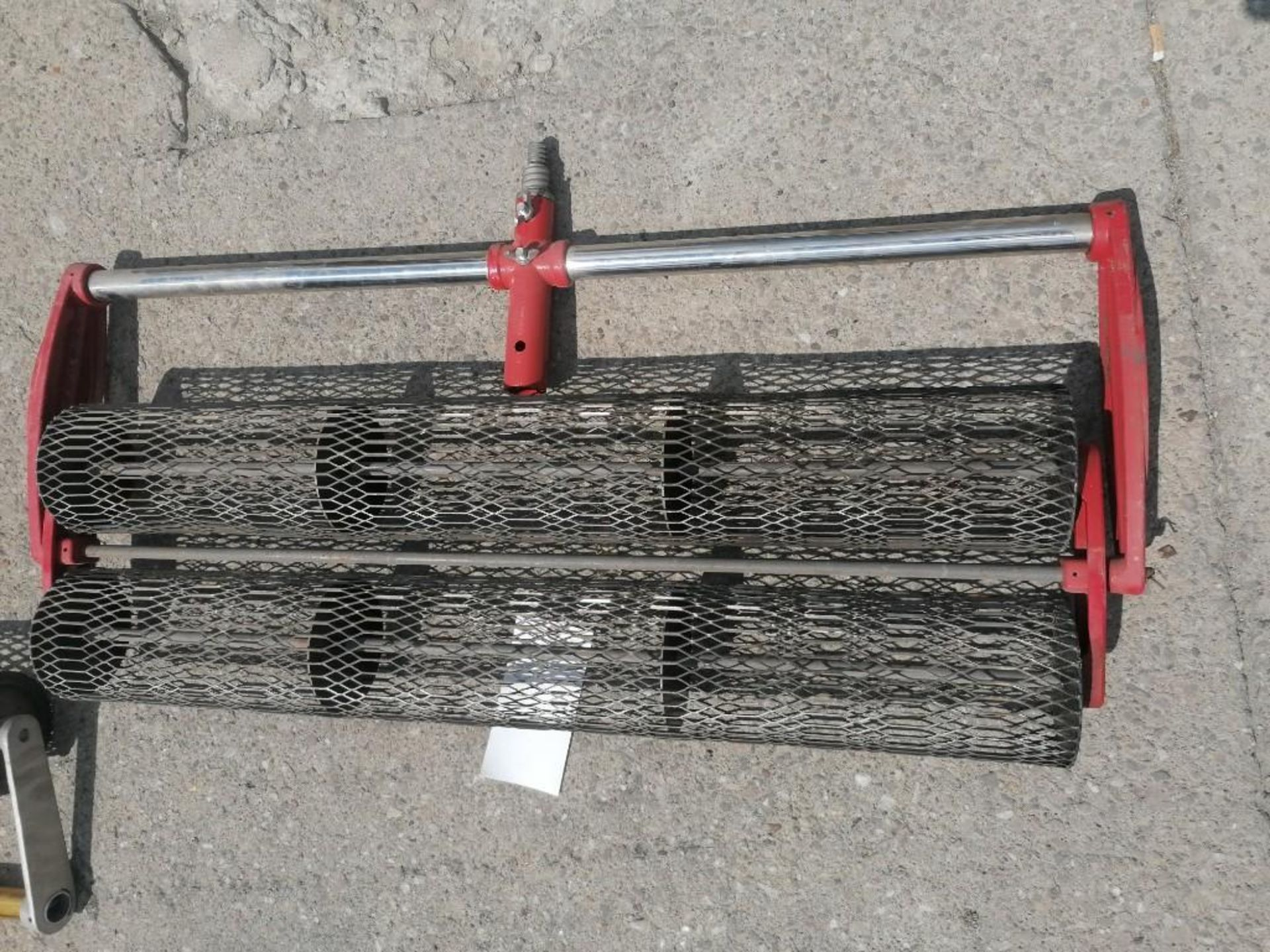 """Lot 70 - (1) 36"""" Double Rolling Tamper. Located at 301 E Henry Street, Mt. Pleasant, IA 52641."""