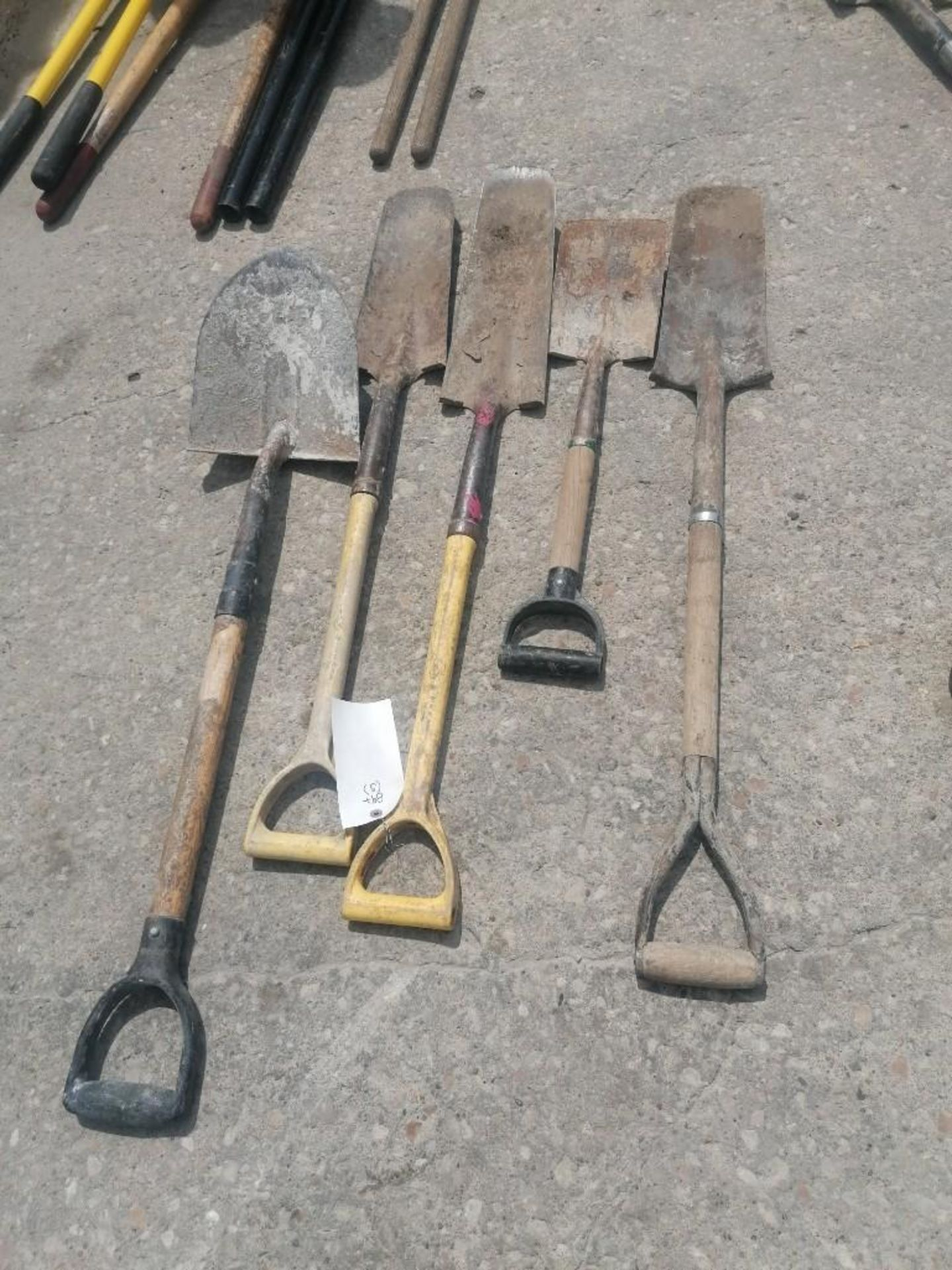 Lot 46 - (5) Shovels. Located at 301 E Henry Street, Mt. Pleasant, IA 52641.
