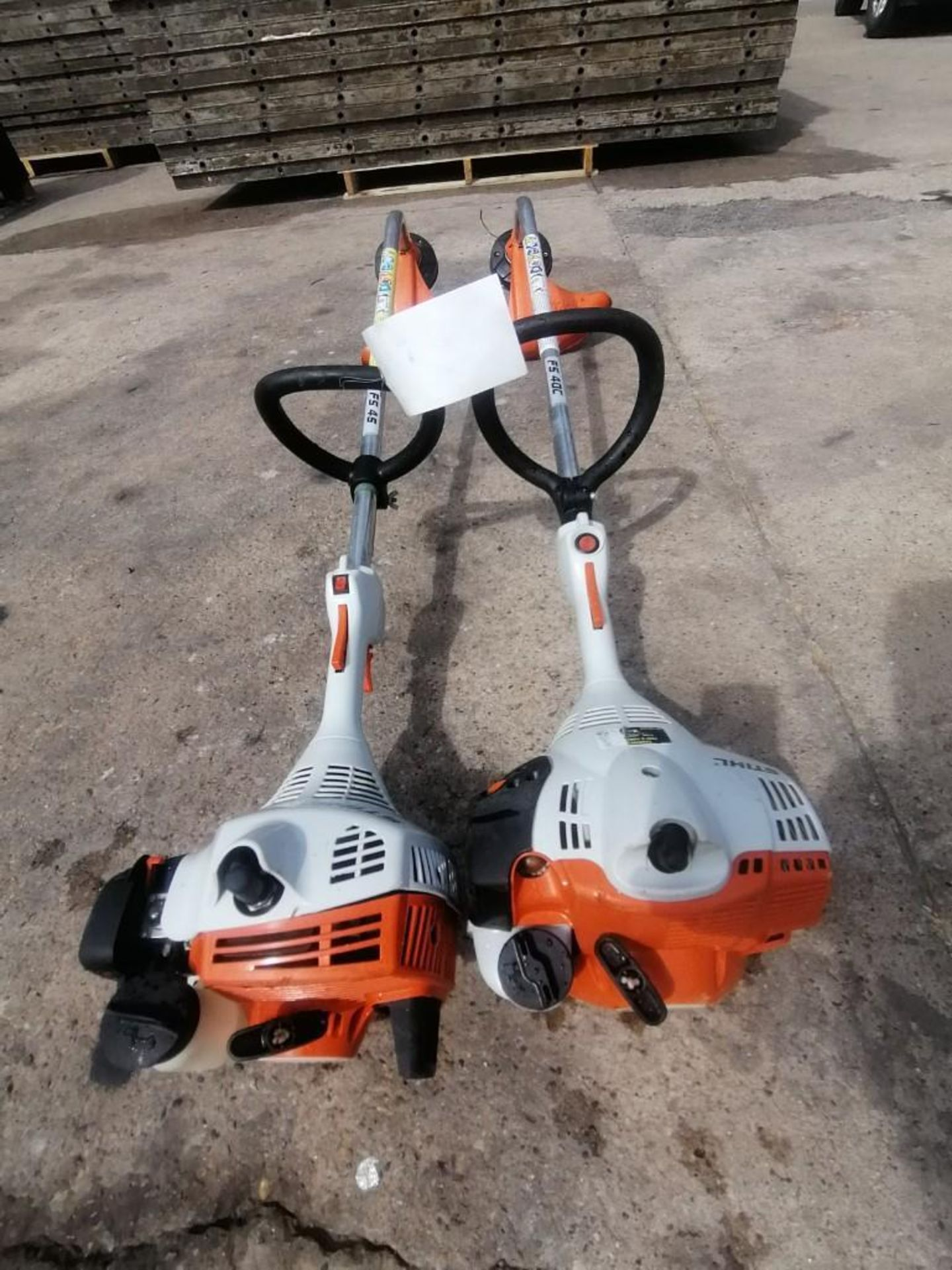 Lot 39 - (1) Stihl FS40C String Trimmer & (1) Stihl FS45 String Trimmer. Located at 301 E Henry Street, Mt.