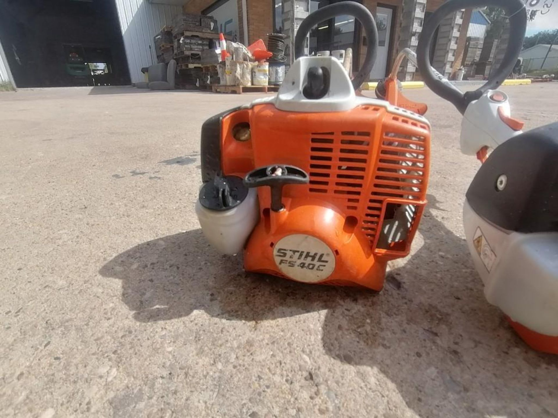 Lot 36 - (2) Stihl FS40C String Trimmer. Located at 301 E Henry Street, Mt. Pleasant, IA 52641.