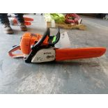 (1) Stihl MS290 Chainsaw. Located at 301 E Henry Street, Mt. Pleasant, IA 52641.