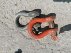 (2) Screw Pin Anchor Shackle. Located at 301 E Henry Street, Mt. Pleasant, IA 52641.