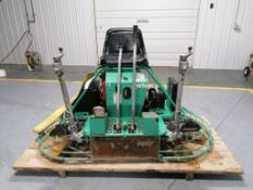 2005 Multiquip Whiteman JWN24HTCSL Riding Trowel, Serial #BJ0203537, Honda 24.0 V Twin Engine, 192.3