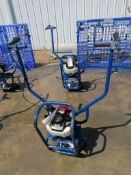 Shockwave Power Screed with Honda GX35 Motor. Serial #5857, 61 Hours. Located in Mt. Pleasant, IA
