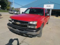 2007 Chevy Extended Cab Pickup Truck, VIN #1GCEC19X37Z104443, 232233 Miles, 4.3L Engine, Automatic