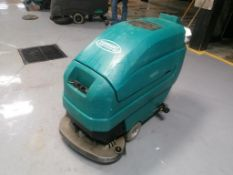 Tennant 5400 Floor Scrubber, Serial #540010203098, 24 Volts. Located in Mt. Pleasant, IA.