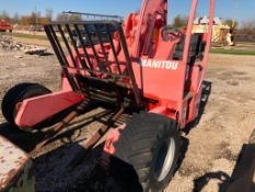 2006 MANITOU TMT55 FLHT Truck Mounted Forklift, Serial #753635. NON RUNNING, Located in