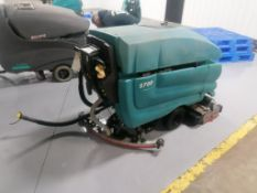 Tennant 5700 Floor Scrubber, Serial #15394, 36 V. Located in Mt. Pleasant, IA.