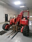 2007 MANITOU TMT55 FLHT Truck Mounted Forklift, Serial #754545, 668 Hours. Located in Mt.