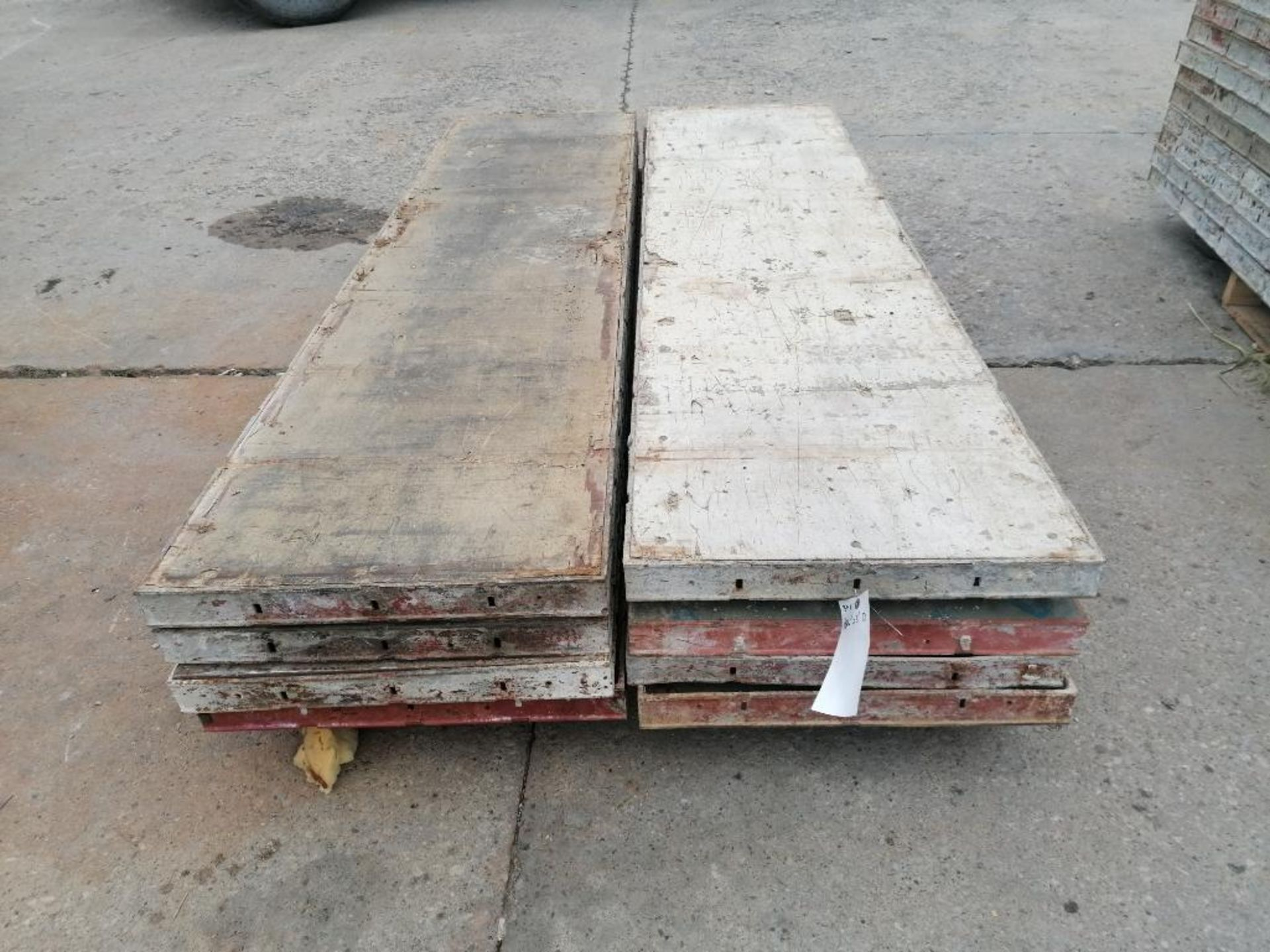 """(8) 24"""" x 8' Ellis Steel Ply Forms. Located in Mt. Pleasant, IA"""