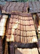 "(48) 12"" Flat Wall Tie. Located in Woodbine, IA"