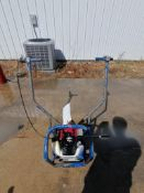 Shockwave Power Screed with Honda GX35 Motor. Serial #5837, 86 Hours. Located in Mt. Pleasant, IA