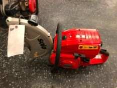 (1) NEW Solo Concrete Saw, Serial #8802400-0313-001025 2013. Located in Wildwood, MO.