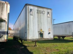 1987 STRI 48' Van Trailer, VIN #1S12E9488HE293377. Located in Burlington, IA.